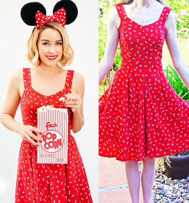 minnie dress outfit